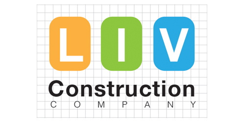 LIV Construction Company logo